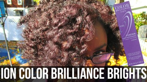 Ion Color Brilliance Brights On Natural Hair!
