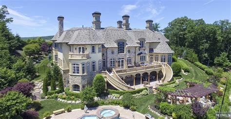 square foot french inspired mansion  mahwah nj homes   rich