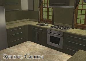 Spring Green Granite Countertops