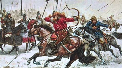 mongol empire genghis  kublai khan brewminate