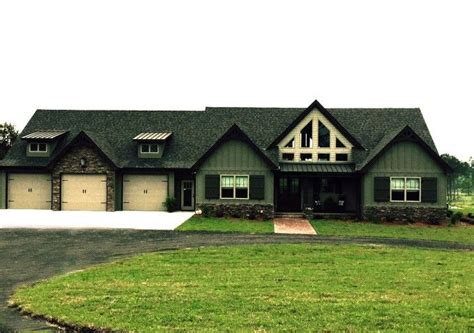 story rustic house plan design exterior pictures