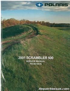 2001 Polaris Scrambler 500 Atv Service Manual