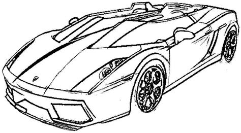 Auto Kleurplaat Getund by 51 Free Printable Cars Coloring Pages Top Car Coloring