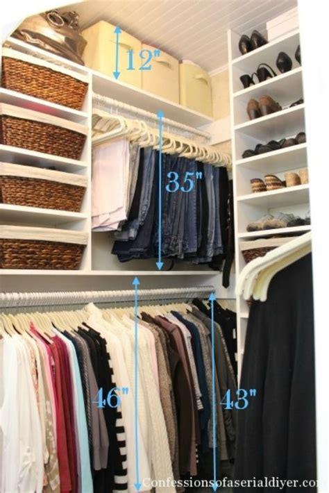 25 best ideas about maximize closet space on