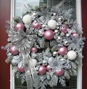decoración navideña en rosa dale detalles