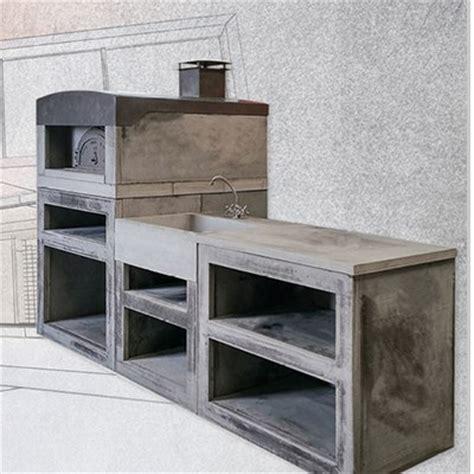 modele de cuisine d été cuisine d été extérieure en reconstituée sur mesure