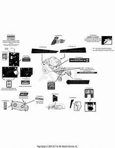 Troy Bilt 17arcbdt066 Mustang Xp Pivot S 46  2015  Parts Diagram For Label Map 17arcbdt011