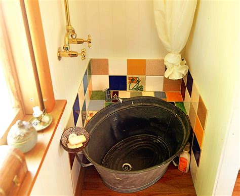 tiny house bathtub duval s 14sqm tiny house wisely utilizes its interior