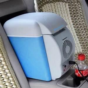 Frigo Pour Voiture : 7 5l r frig rateur mini frigo 12v lectrique glaci re ~ Premium-room.com Idées de Décoration
