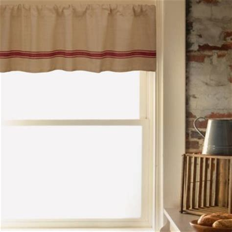 Inch Valance by Farmhouse Kitchen 15 Inch Valance In Sesame Bed Bath