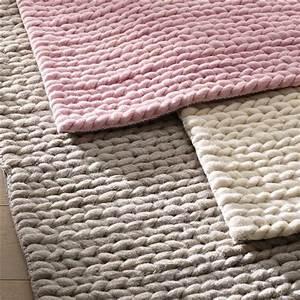 17 meilleures idees a propos de tapis en laine sur for Tapis laine tressée