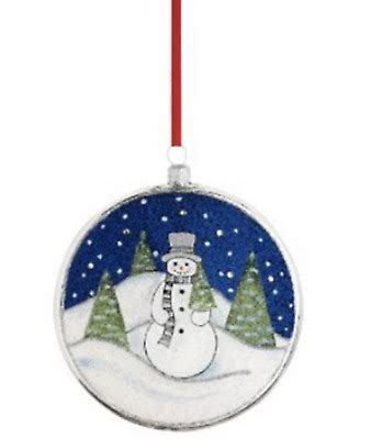 reed and barton christmas ornaments md anderson reed barton blown glass 5th ornament 12 days of 5 gold rings cad 28 22 picclick ca