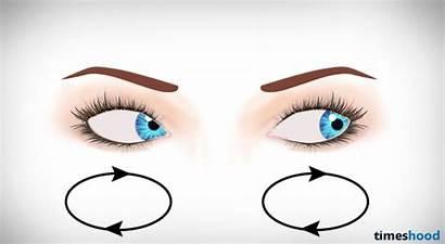 Eyesight Eyes Improve Exercises Circle Timeshood Roll