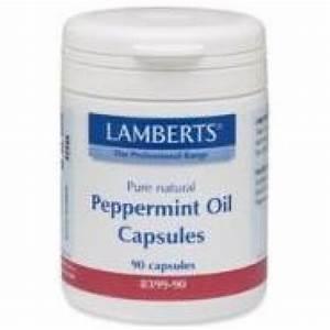 Lamberts U00ae Peppermint Oil Capsules 50mg