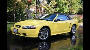 Review Walk Around 2001 Mustang Svt Cobra Convertible For Sale