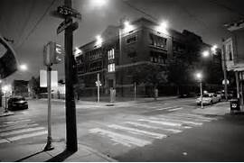 Ghetto Street Corner At Night Urban philadelphia street corner at      Ghetto Street Corner At Night