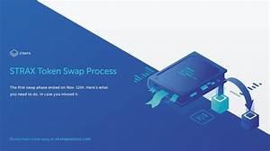 Strax Token Swap Process