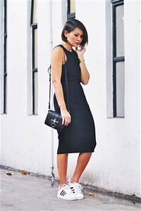 Black Dress Sneakers - Oasis amor Fashion