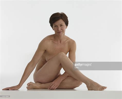 Beauty Shot Of Naked Mature Woman Stock Photo Getty Images