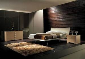 Blue Accent Wall For Bedroom Wall Mounted Dark Brown
