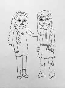 my american girl coloring pages - American Girl Coloring Pages Julie