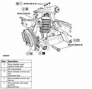 2002 Ford Explorer Front Suspension Diagram