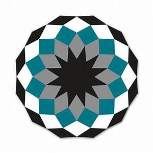 Tapis Blanc Rond : tapis marquis jardinchic ~ Dallasstarsshop.com Idées de Décoration