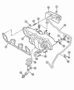 2008 Jeep Patriot Shield  Exhaust Manifold  Heat
