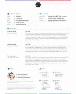 illustrator resume templates learnhowtoloseweightnet With cv template illustrator