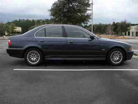 free car manuals to download 2002 bmw 5 series engine control find used 2002 bmw 530i sedan 5 speed manual blue premium cold weather packages in jacksonville