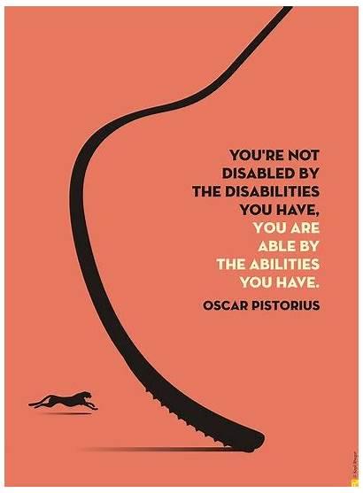 Quotes Disability Awareness International Inspirational Positive December