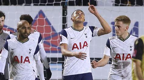 Marine 0 - 5 Tottenham - Carelyst