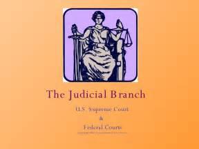 Judicial Branch Government