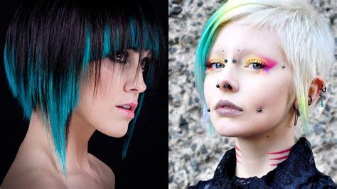 cyberpunk haircuts  bold  beautiful divas haircuts hairstyles