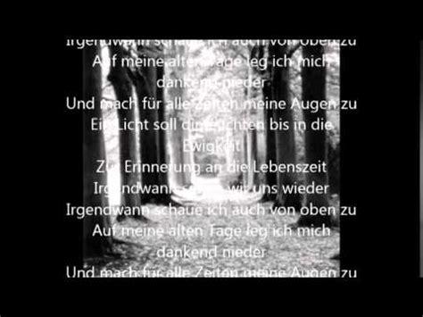 irgendwann sehen wir uns wieder hochdeutsche version von