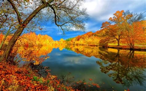 Autumn Lake Wallpapers by Autumn Lake Lakes Nature Background Wallpapers On