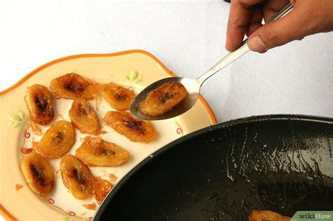 cuisiner des bananes 3 ères de cuisiner des bananes plantain wikihow