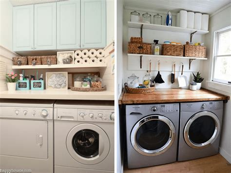 Decorating Ideas For Small Laundry Room small laundry room ideas organization more