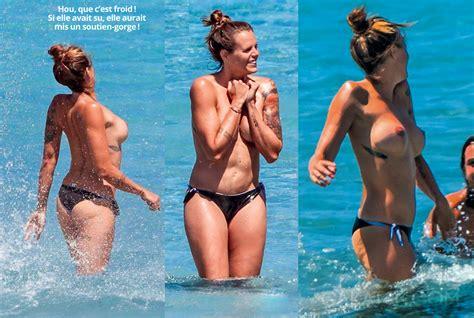 Laure Manaudou Topless En Une De La Presse People Photos