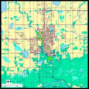 Grand Prarie, Alberta Digital Vector Maps - Download ...