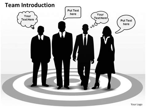 good team introduction  powerpoint templates
