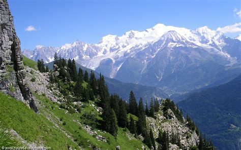 massif du mont blanc fond d 233 cran en 1280x800 d une vue sur la massif du mont blanc