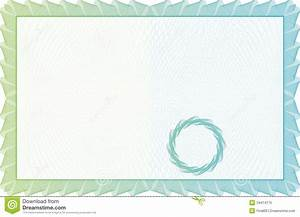 award certificate template border template certificate currency and diplomas stock vector