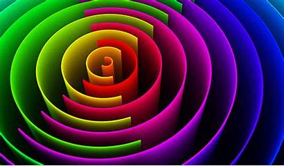 Colorful Colourful Spiral Wallpapers Flex Banner Backgrounds