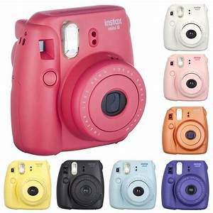 Fuji Fujifilm Instax Mini 8 Instant Film Camera Fun Colors