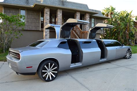 Need A Limo by Dodge Challenger Limo Clean Ride Limo