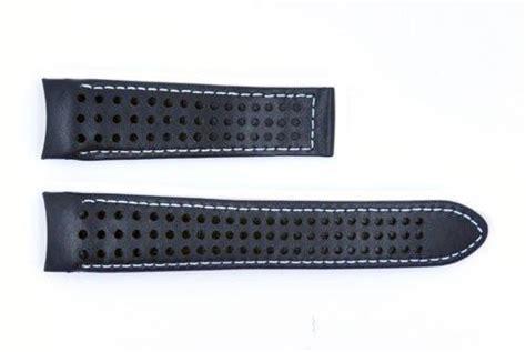 coach watch repair form genuine movado 21mm hole design genuine black leather