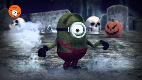 Funny Minions Halloween Spooky