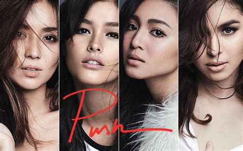 julia montes look alike kathryn liza nadine and julia rock the super natural