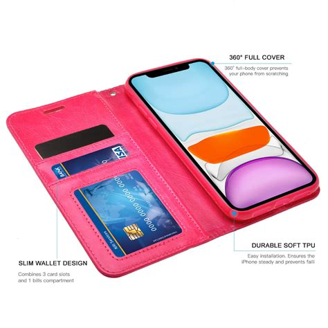 All of them are made of good quality material and the team of experts went through a lot of different card holder cases to come up with this list. iPhone 11 Pro Max Case - ZIZO® WALLET FOLIO Series Magnetic Flap + Card Holder | eBay